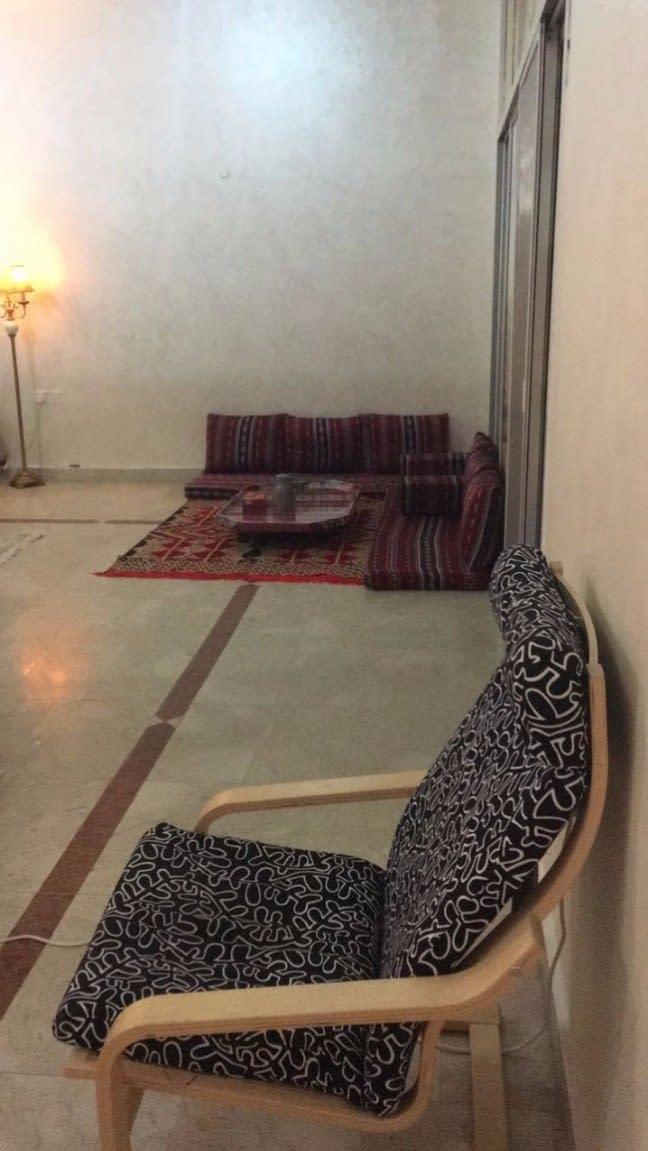 غرفة وصالة للإيجار داخل مدينة أبوظبي