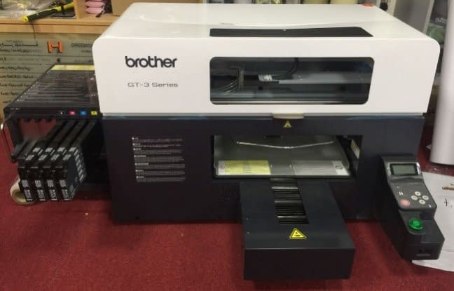 Printer Clothing / brother GT - 3 At an