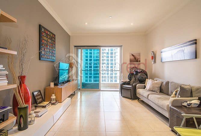 شقة فخمة للبيع اذلالة مارينا دبي غرفتين