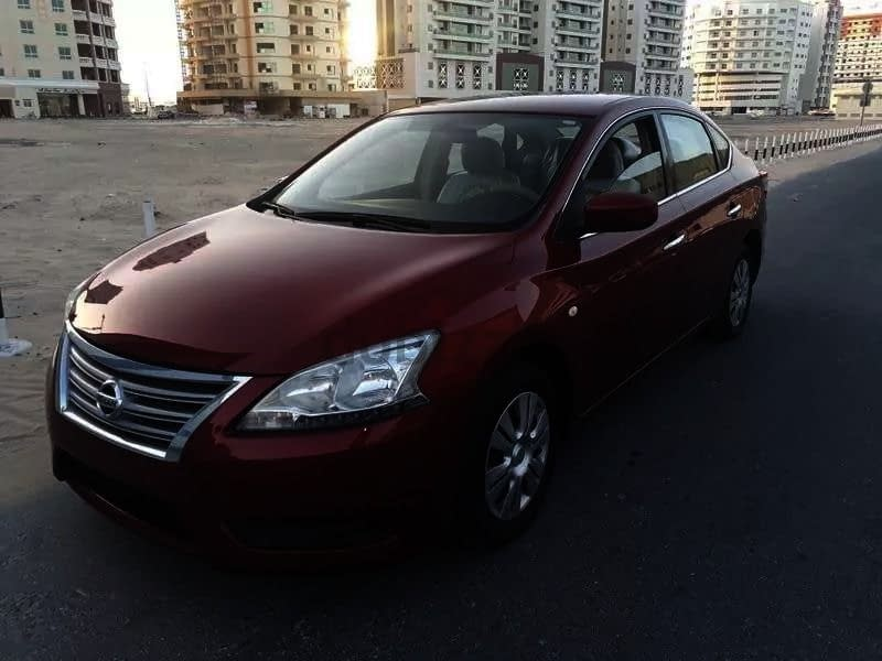 Nissan sentra 2014 250000 km 17500 dhs