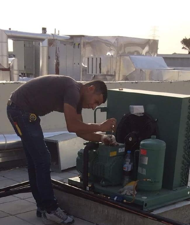 We provide maintenance services for