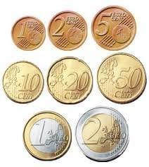 عملة فرنسا اليورو مجموعة 8 قطع / سعر 50