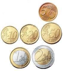 عملة بلجيكا اليورو 5 قطع / سعر 50 درهم