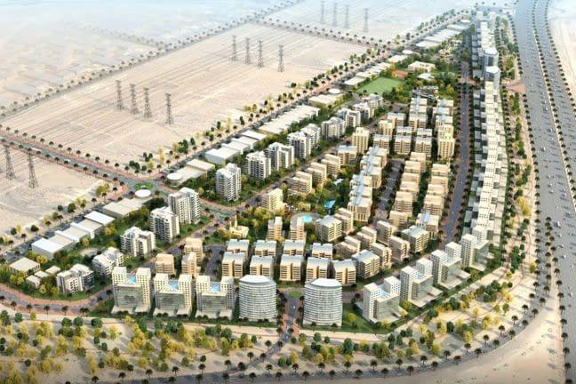 تملك حر أرض سكنية تجارية في منطقة ند