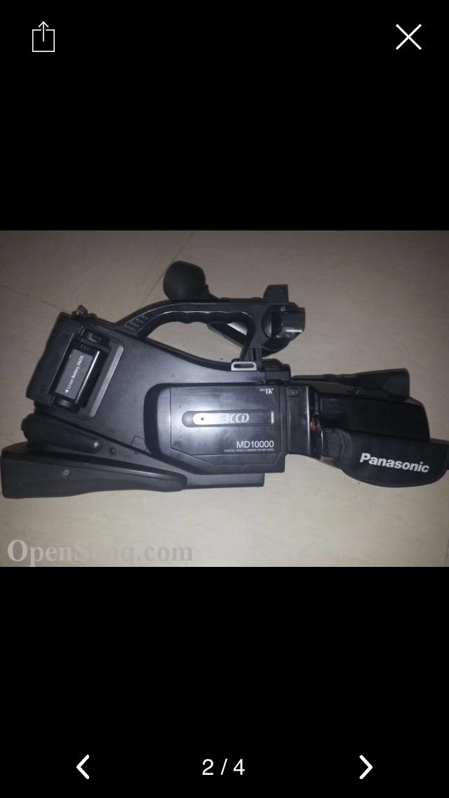 كاميرا فيديو باناسونك بحاله ممتازه مع