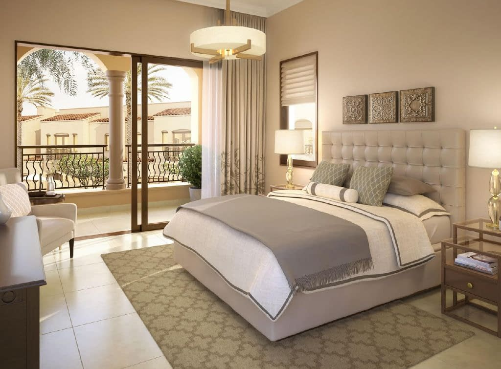 تملك في دبي فيلا 3 غرف نوم + غرفة خادمة