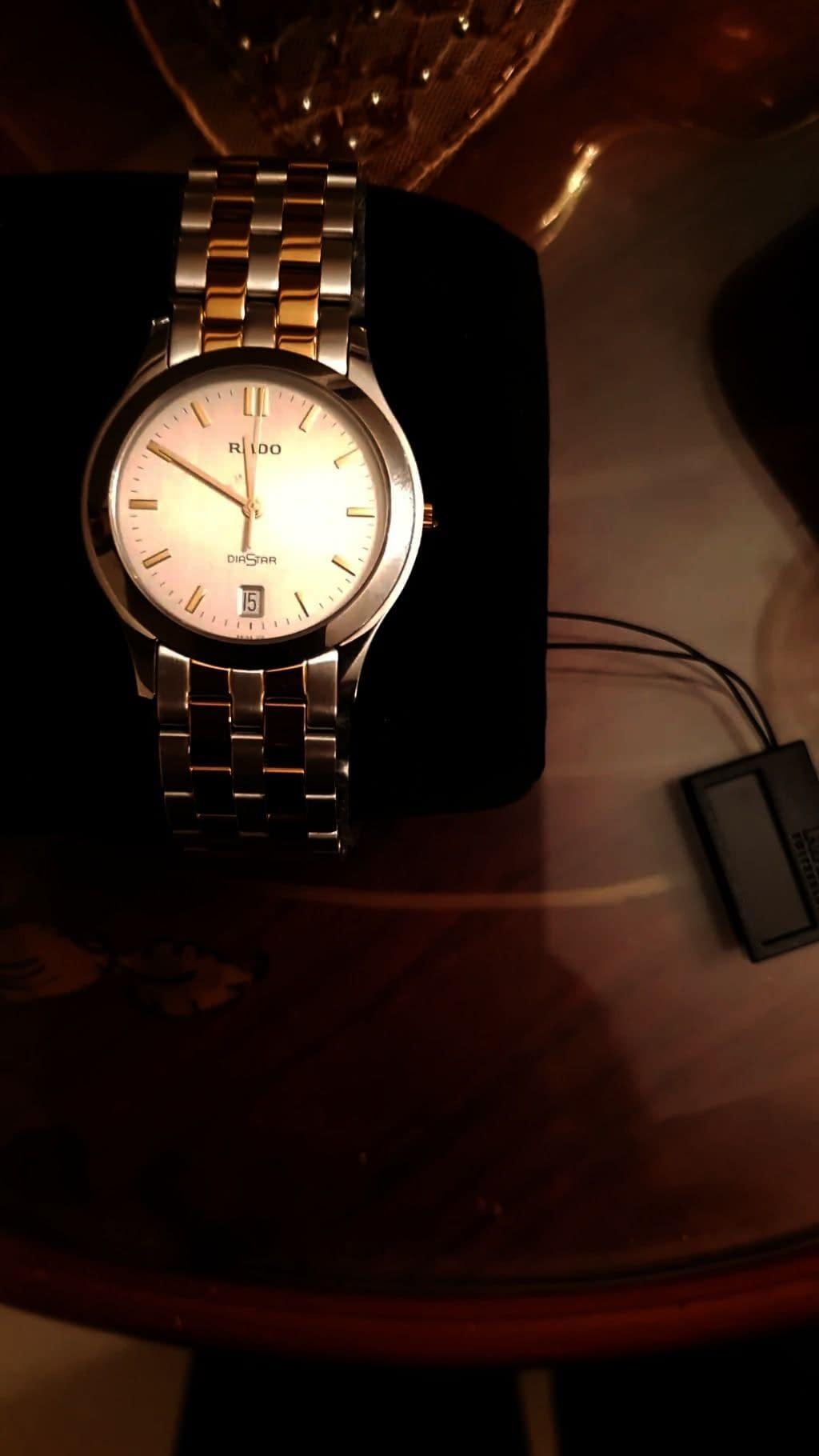 ساعة رادو رجالية الأصلية للبيع السعر
